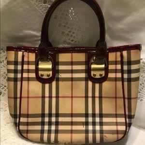 Authentic Burberry small handbag